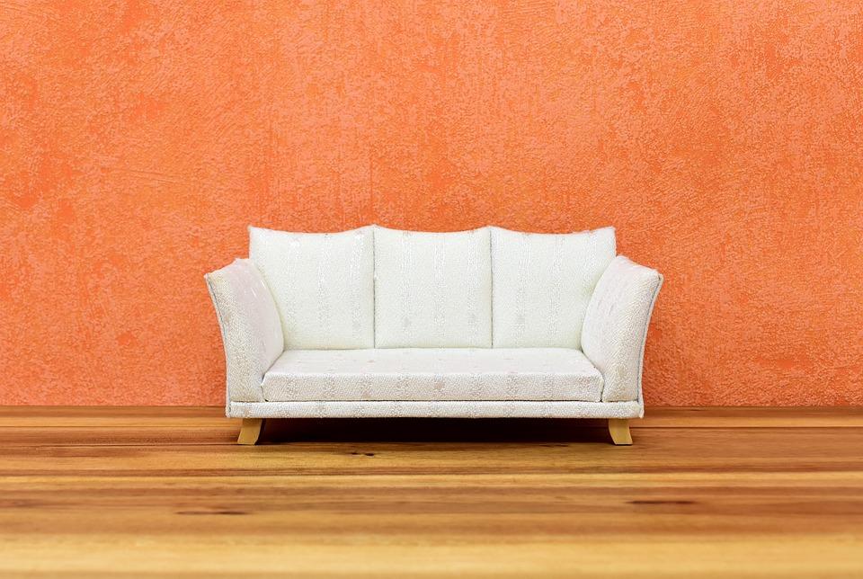ソファ, 壁, 家具の部分, リラクゼーション, ホーム, 家に, 残り, 座席用家具, 家具