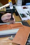 technique, leather