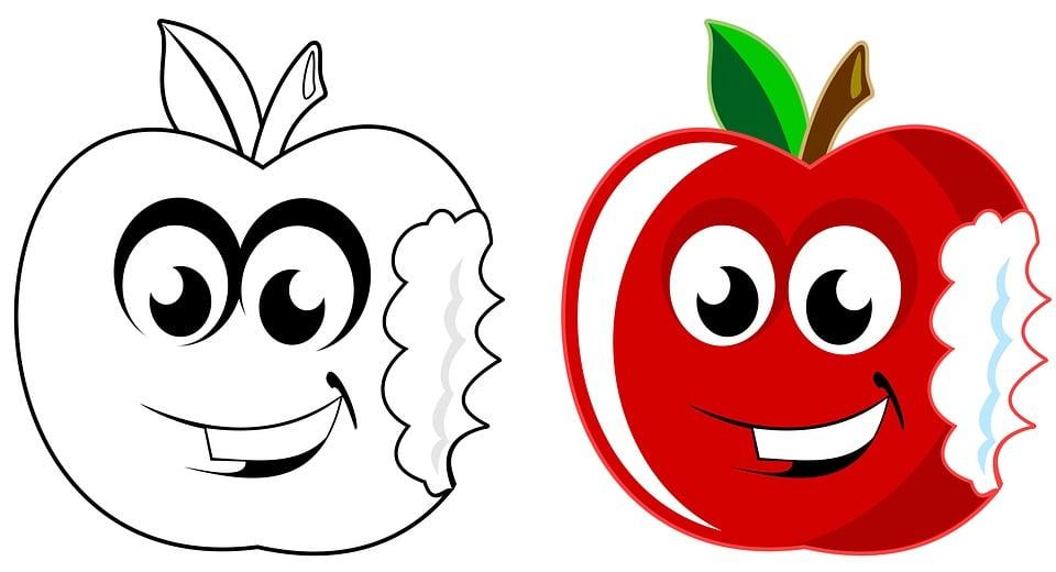 apple art artwork free image on pixabay