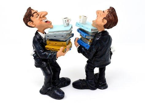 租税コンサルタント, ファイル, 積み重ねられたファイル, 状態, オフィス