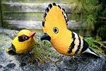 birds, para, wooden