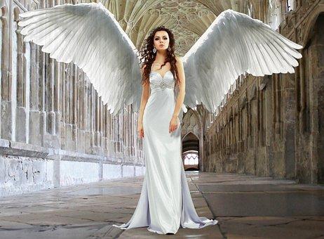 天使, ヴァージン, 女神, 純度, 宗教, シンボリズム, ゴシック建築