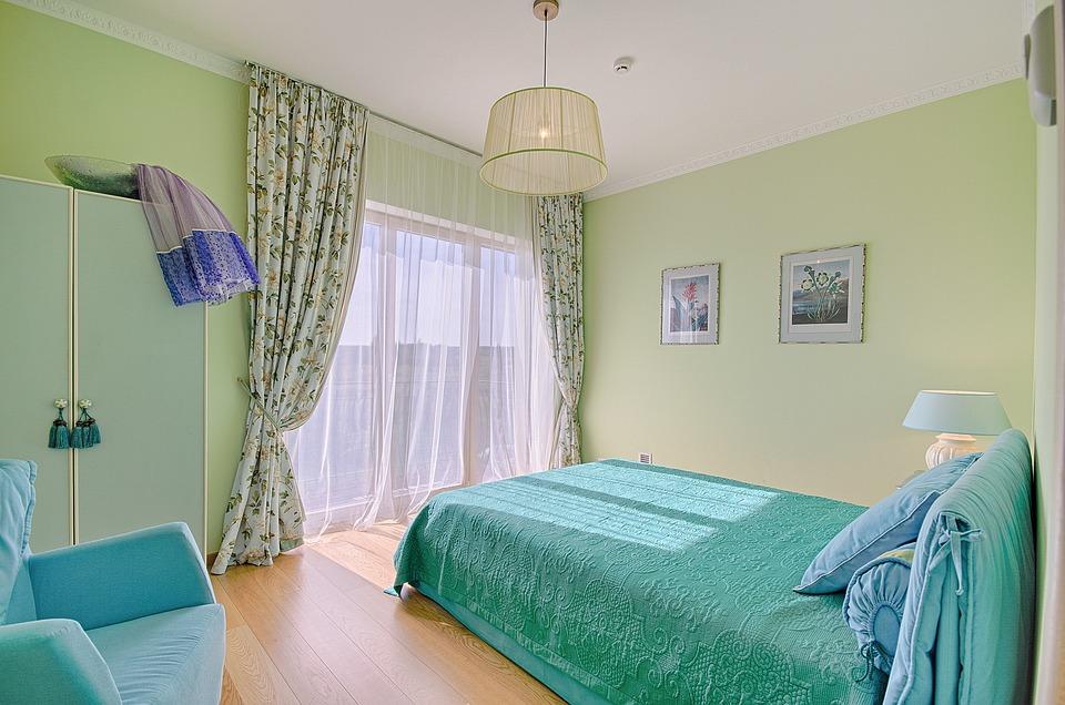 Стая, Вътре, Мебели, Lamp, Легло