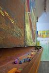 school, board, chalk