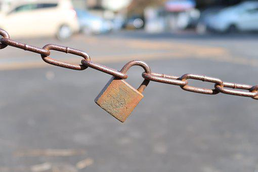Sicherheit, Kette, Lock, Schlosser