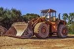 bulldozer, equipment