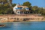house, villa, arch