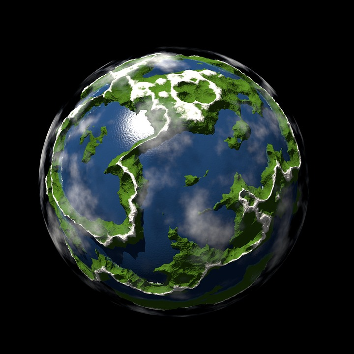 Planet, Spherical, Map, Sphere, Universe, Geography