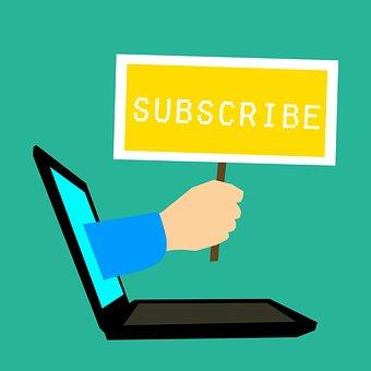 購読, 登録, 接続, ブログ, 招待状, アドバイス, ビジネス