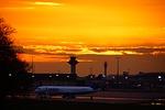 airport, sky