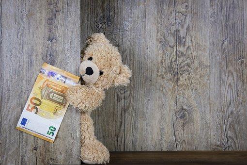 お金, ユーロ, 50 ユーロ, 50, 紙幣, 現金, ベアー