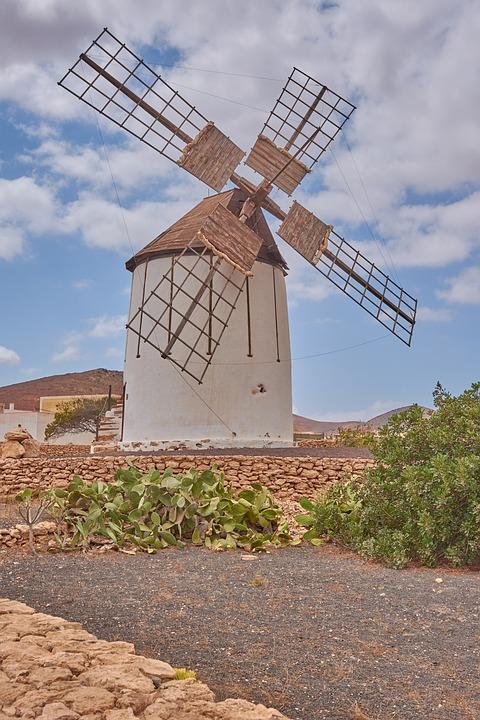 Mulino A Vento Cielo Foto Gratis Su Pixabay