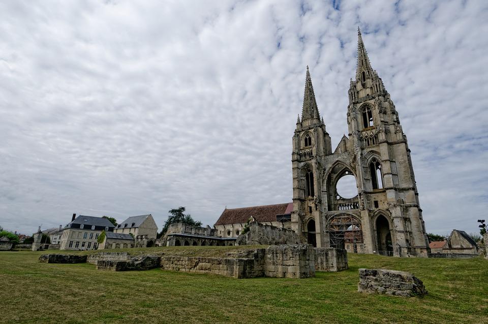 soissons フランス 大聖堂 pixabayの無料写真