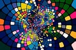abstract, squares, background