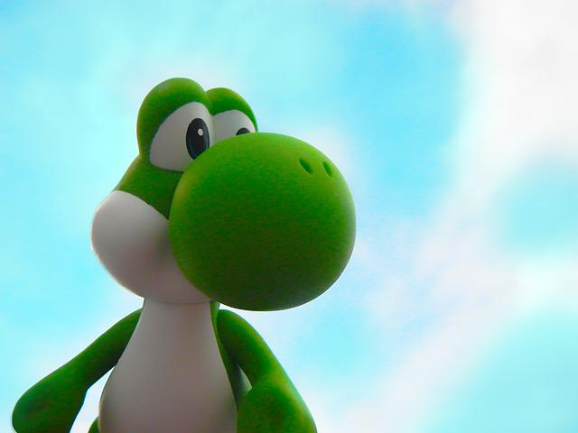 Yoshi Nintendo Mario Bros Super 183 Free Photo On Pixabay