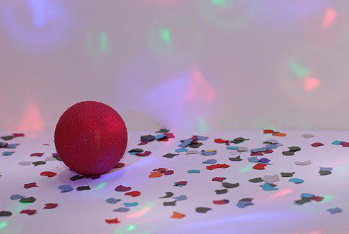 Karneval, Party, Bunt, Spaß, Deko