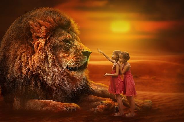 8k Animal Wallpaper Download: Lion People Twins · Free Photo On Pixabay