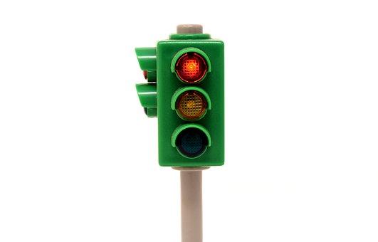 Traffic Lights, Red, Stand Still, Stop