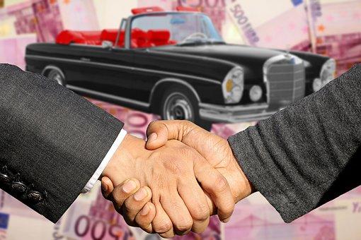 Autohandel, Autokaufmann, 自動車販売, 契約の締結