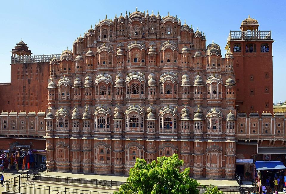 Palace Of The Winds, Jaipur, Hawa Mahal, India