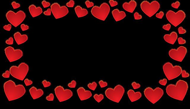 Coeur transparent l 39 amour fond images vectorielles gratuites sur pixabay - Images coeur gratuites ...