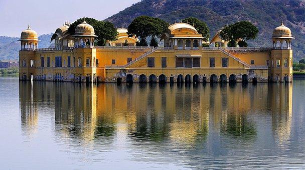 Water Palace, Palace, Rajasthan, India