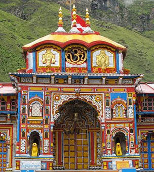 Badrinath temple image for information