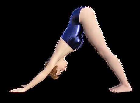 女子, 瑜伽, 运动, 美, 漂亮, 小井, 头发, 年轻, 运动型, 有吸引力