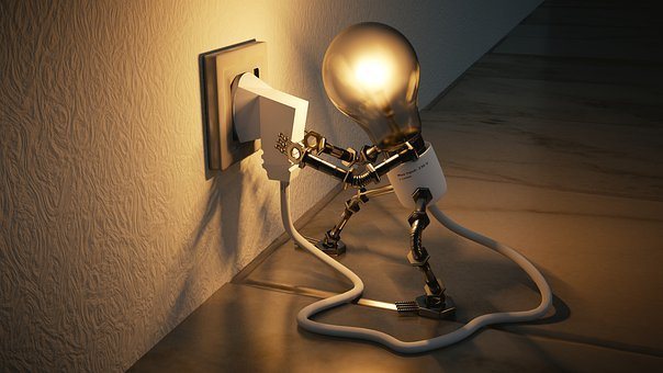 Light Bulb, Idea, Self Employed
