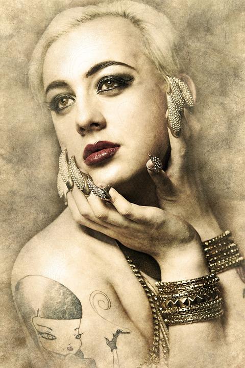 Mujer Retrato Mujeres Foto Gratis En Pixabay