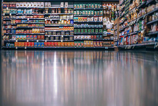 Aisle, Background, Buy, Clean, Food