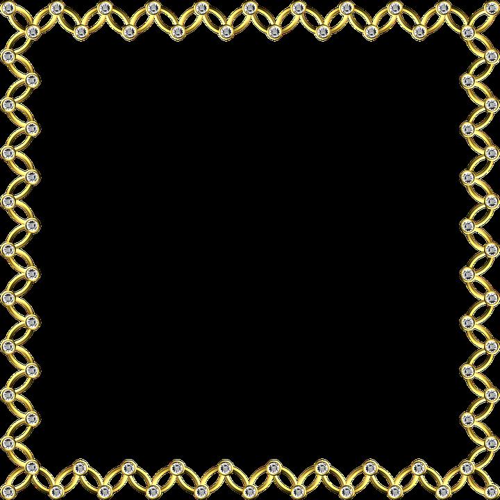 Gold Rahmen Quadrat · Kostenloses Bild auf Pixabay