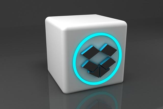 Dropbox 3D model icon