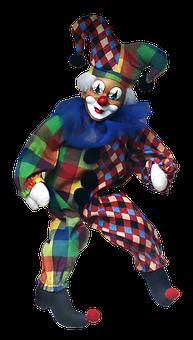 Eulenspiegel, Clown, Carnival, Doll