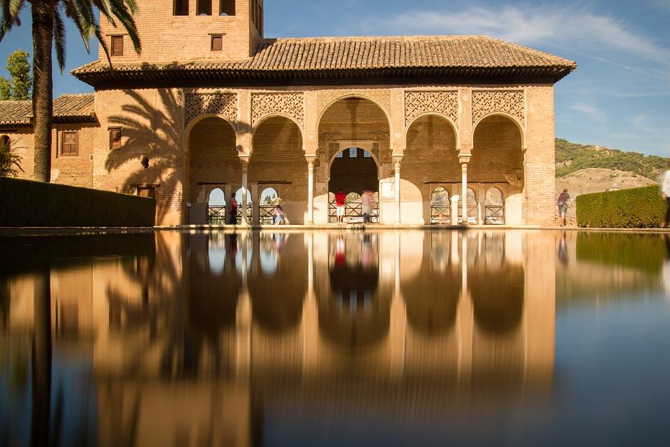 Granada, Alhambra, O Partal, Monumentos, Espanha