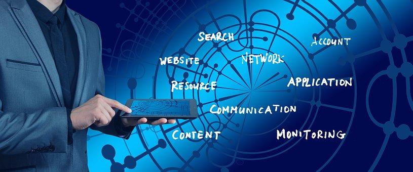 手, 商人, 商业, 搜索, Web 页, 资源, 网络, 应用程序