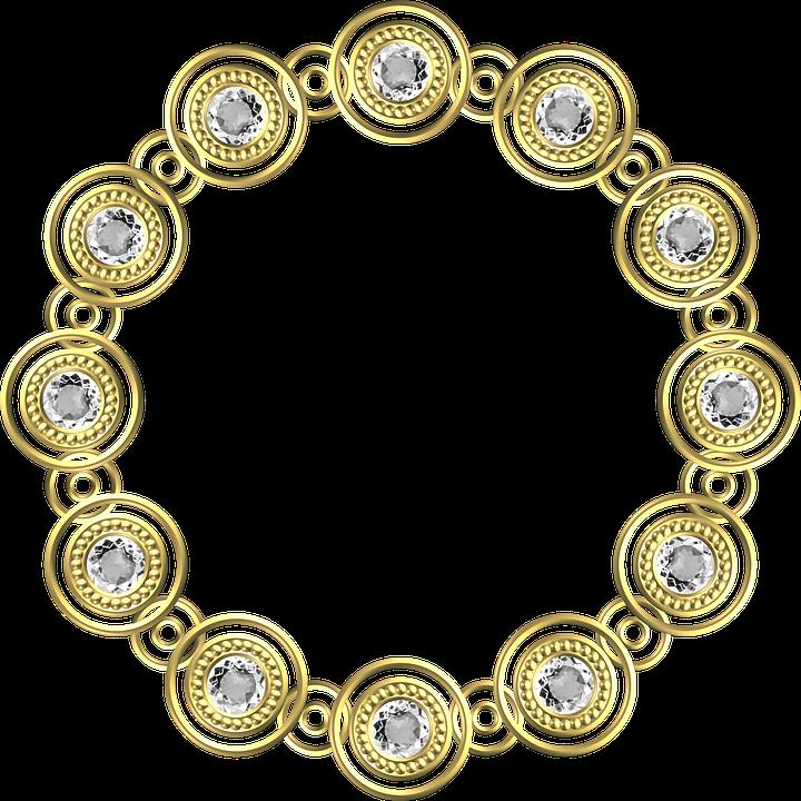Gold Frame Circle Free Image On Pixabay