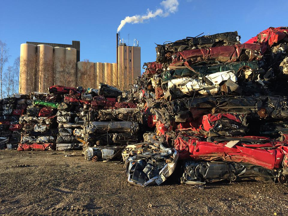 Automotriz Trituradoras Residuos, Chatarra, Silo, Humo