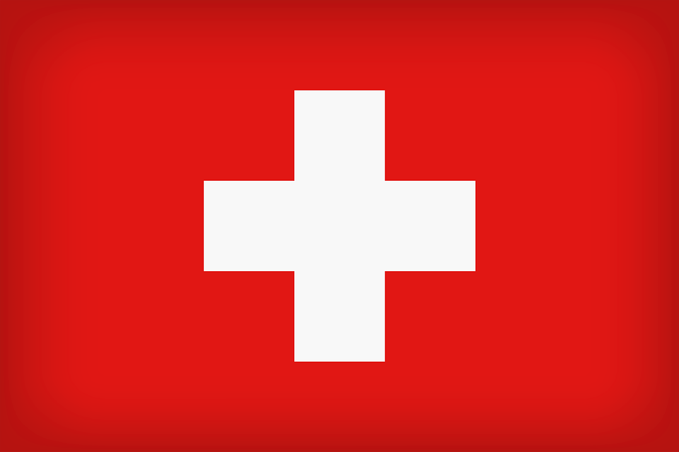 Swiss Flag, Switzerland, Country, Flag, Symbol