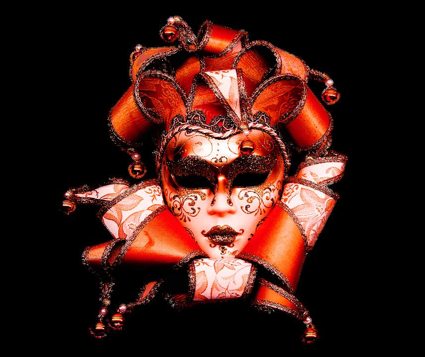Carneval, Carnaval, Máscara, De Oro, Adorno, Fantasía