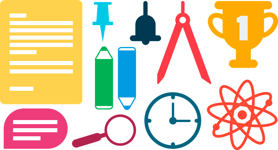 School Supplies Color · Free vector graphic on Pixabay