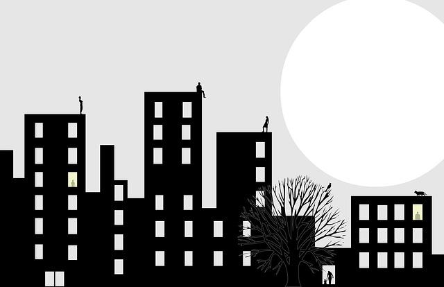 Moon Human City 183 Free Photo On Pixabay