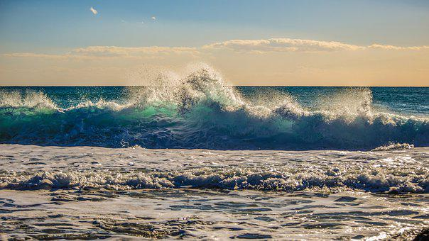 Water, Nature, Landscape, Sky, Sea, Surf