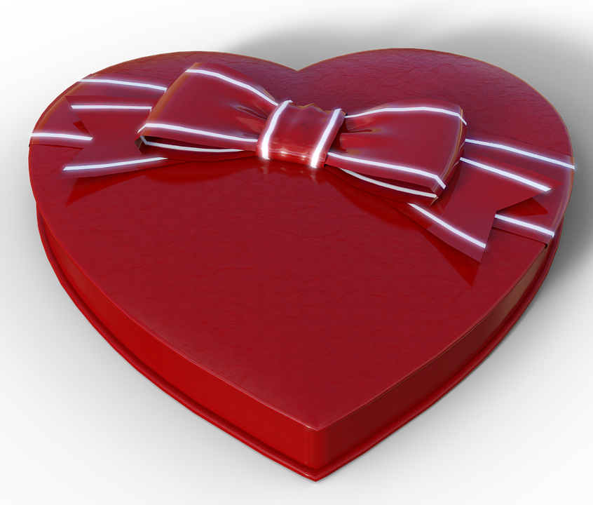 Free illustration heart chocolates gift packaging free image heart chocolates gift packaging box of chocolates negle Images