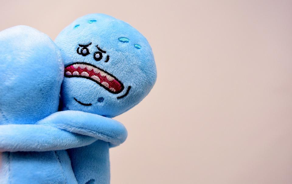 別れ, 悲しい, 抱擁, フィギュア, テディー ・ ベア, ぬいぐるみ, 動物のぬいぐるみ, かわいい