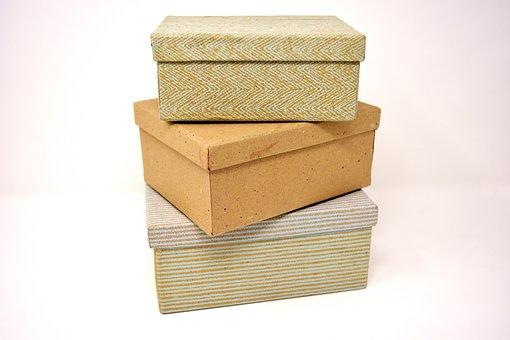Pappschachteln, Kartons, Pappe