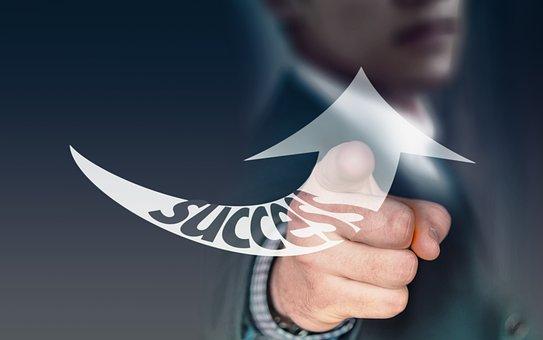 Arrow, Success, Trend, Development