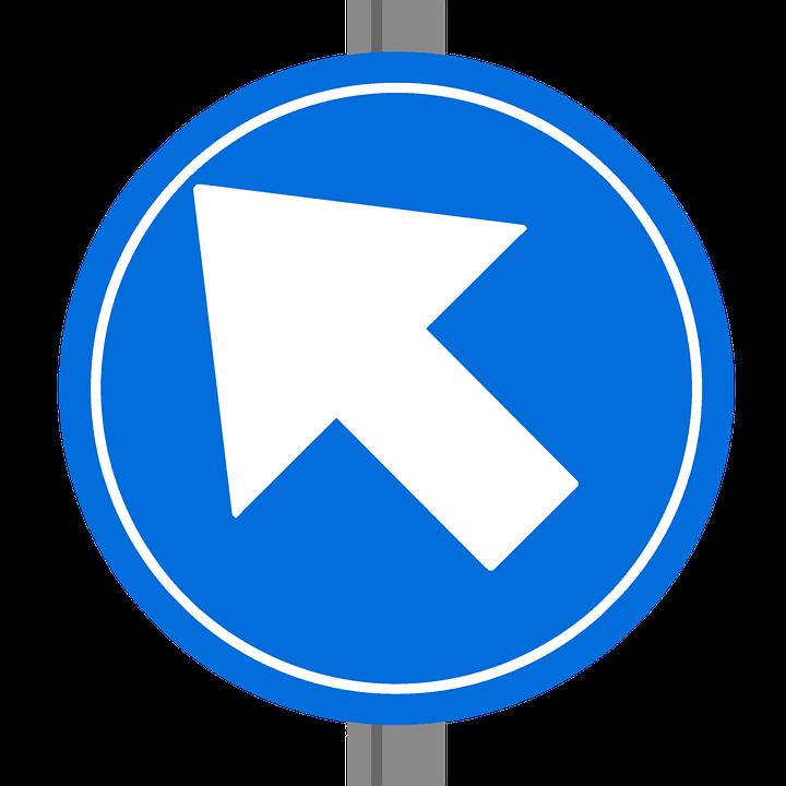 One Way Sign Europe Dutch Traffic Free Image On Pixabay