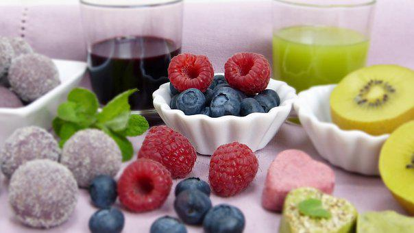 Fruit, Fruits, Raspberries, Diet