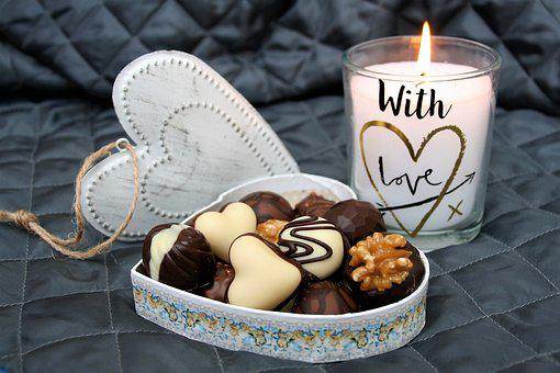 Heart, Candle, Love, In The Evening,124 Free images of Chocolate Day Related Images: Chocolate Love Heart  Valentine's Day  Candy  Hot Chocolate  Romantic  Romance  Valentine  Sweet